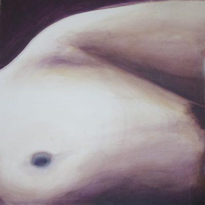 2010 – Desnudo femenino 150 x 70cm-Acrílico sobre tela
