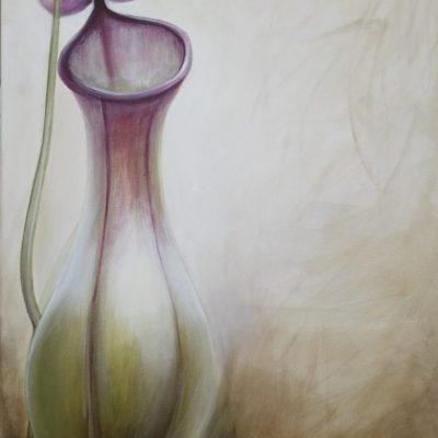 2010 – Esperando 70 x 50cm-Acrílico sobre tela